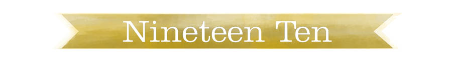 Blog - Nineteen Ten Home