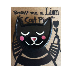 cat-pin-black