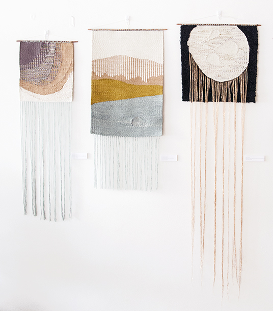 New Weavings by Lucy Poskitt